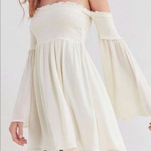 Ecote white off the shoulder dress